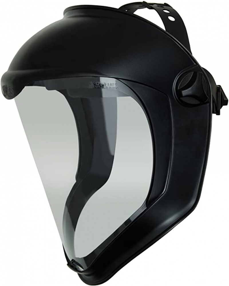 ihocon: Uvex Bionic Face Shield with Clear Polycarbonate Visor and Anti-Fog/Hard Coat 防護面罩