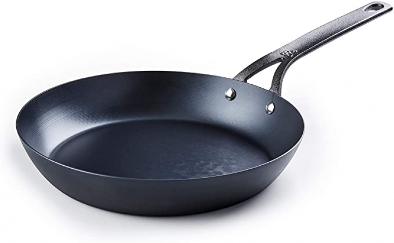 ihocon: BK Cookware Skillet Black Carbon Steel, 10吋 碳鋼鍋(熟鐵鍋)