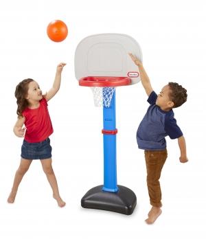 ihocon: Little Tikes TotSports Easy Score Toy Basketball Set 幼兒籃球架