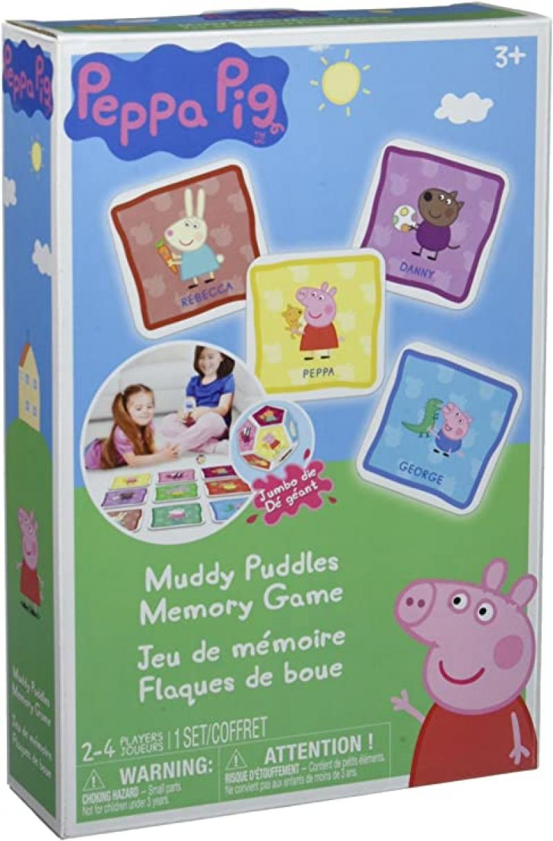 ihocon: 桌遊- Peppa Pig Muddy Puddles Memory Board Game