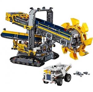 ihocon: LEGO Technic Bucket Wheel Excavator 42055 Construction Toy(3929 pieces)