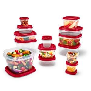 [超低價] Rubbermaid 24-Piece 食物保鮮盒 $6.99(原價$14.98)