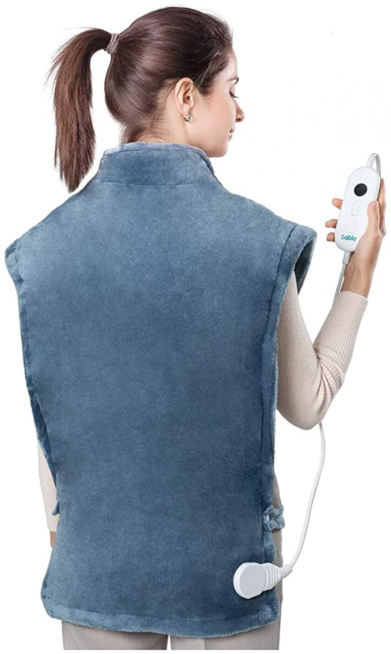 ihocon: Sable Heating Pad for Neck and Shoulders, 27x35 Extra Large 肩頸背部加熱墊