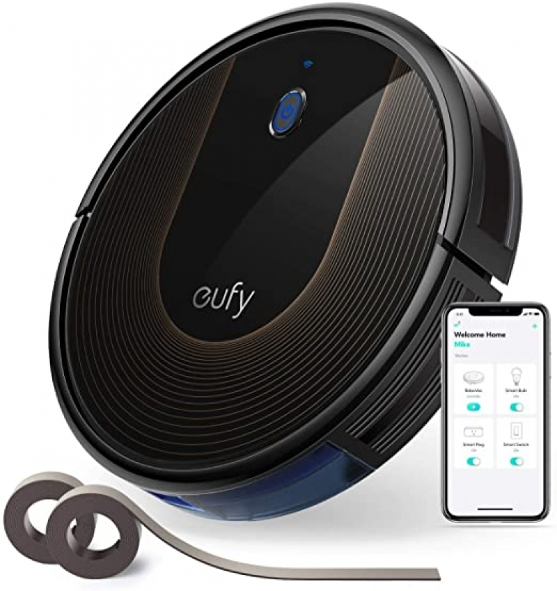 ihocon: eufy by Anker, BoostIQ RoboVac 30C, Robot Vacuum Cleaner智能自動充電吸地機器人, 含邊界條