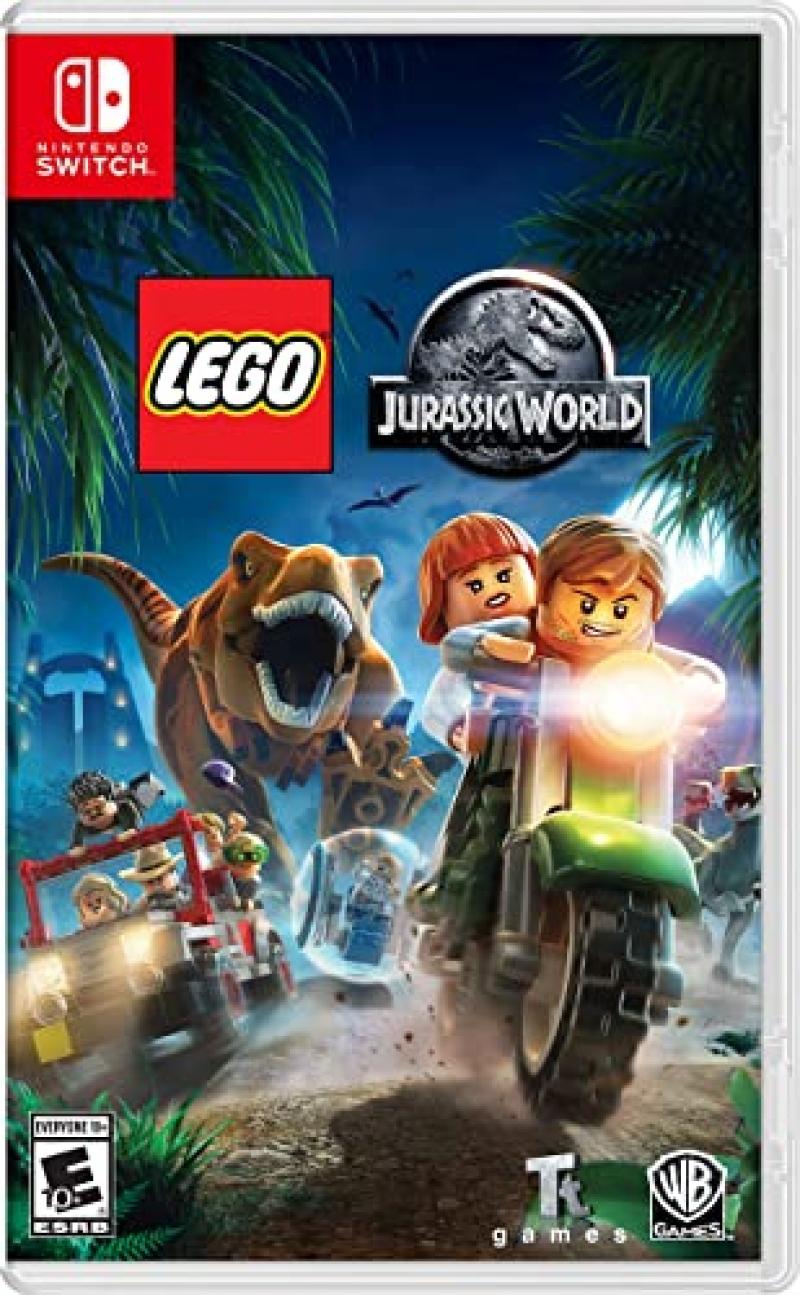ihocon: Nintendo Switch遊戲 - Lego Jurassic World樂高侏羅紀世界