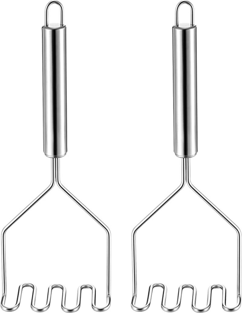 ihocon: Boao 2 Pieces Stainless Steel Potato Masher 不銹鋼馬鈴薯壓泥器