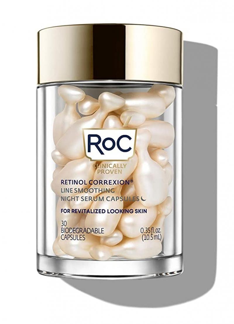 RoC Retinol Correxion 視黃醇夜間精華膠囊 30粒 $19.94(原價$32.99)