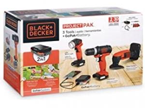[今日特賣] Black+Decker 電動工具組 $49.99(原價$86.46)