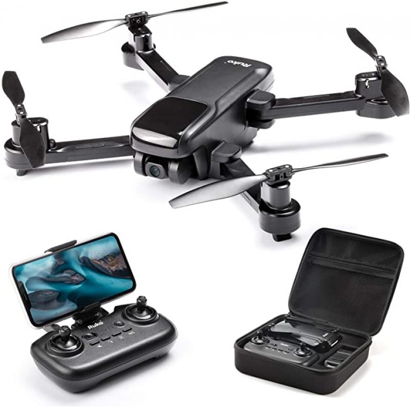 ihocon: Ruko U11 GPS Drone with Camera, 4K UHD FPV Quadcopter Drones 無人機/ 空拍機