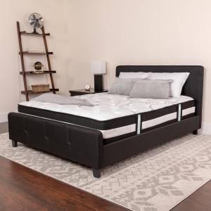 ihocon: Capri Comfortable Sleep 12吋 Foam and Innerspring Mattress泡棉/彈簧床墊
