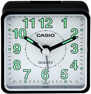 ihocon: Casio TQ140 Travel Alarm Clock 卡西歐鬧鐘