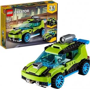 ihocon: LEGO Creator 3in1 Rocket Rally Car 31074 Building Kit (241 Pieces)