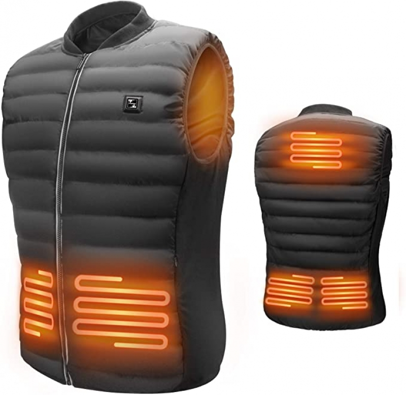 ihocon: LIFEBEE Men's USB Electric Heated Vest男士加熱背心