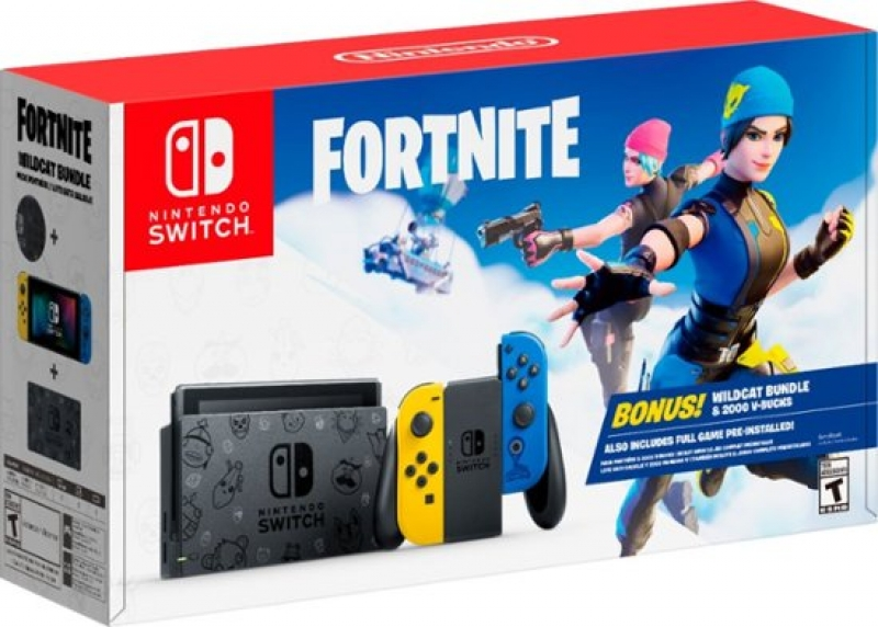 ihocon: Nintendo Switch Fortnite Wildcat Bundle