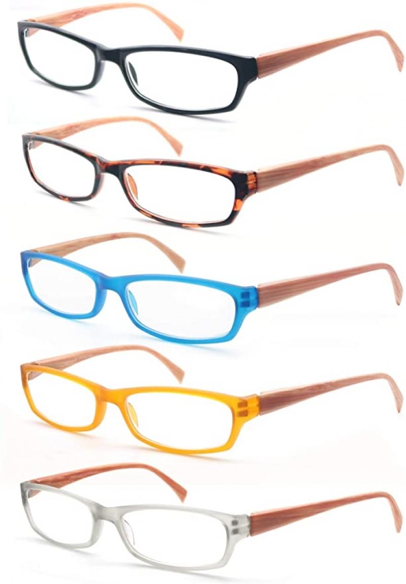 ihocon: MODFANS 5 Pack Reading Glasses Women Men男士/女士老花眼鏡