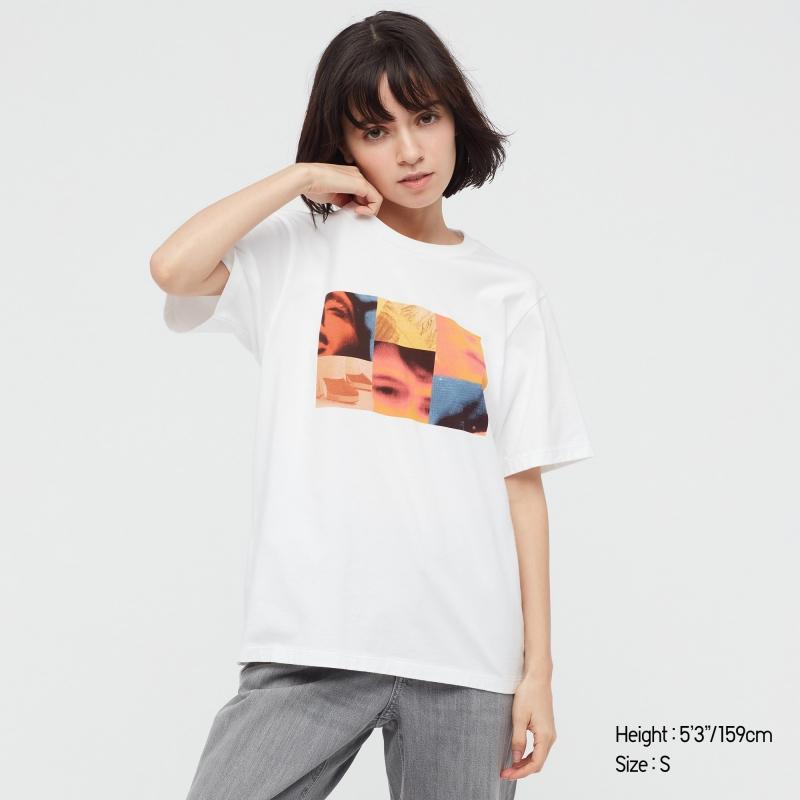 ihocon: UNIQLO TROYE SIVAN UT 女士短袖衫