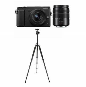 Panasonic Lumix無鏡單反+ 12-32mm鏡頭 + 45-150mm鏡頭+ 三腳架 $497.99免運(原價$997.99)