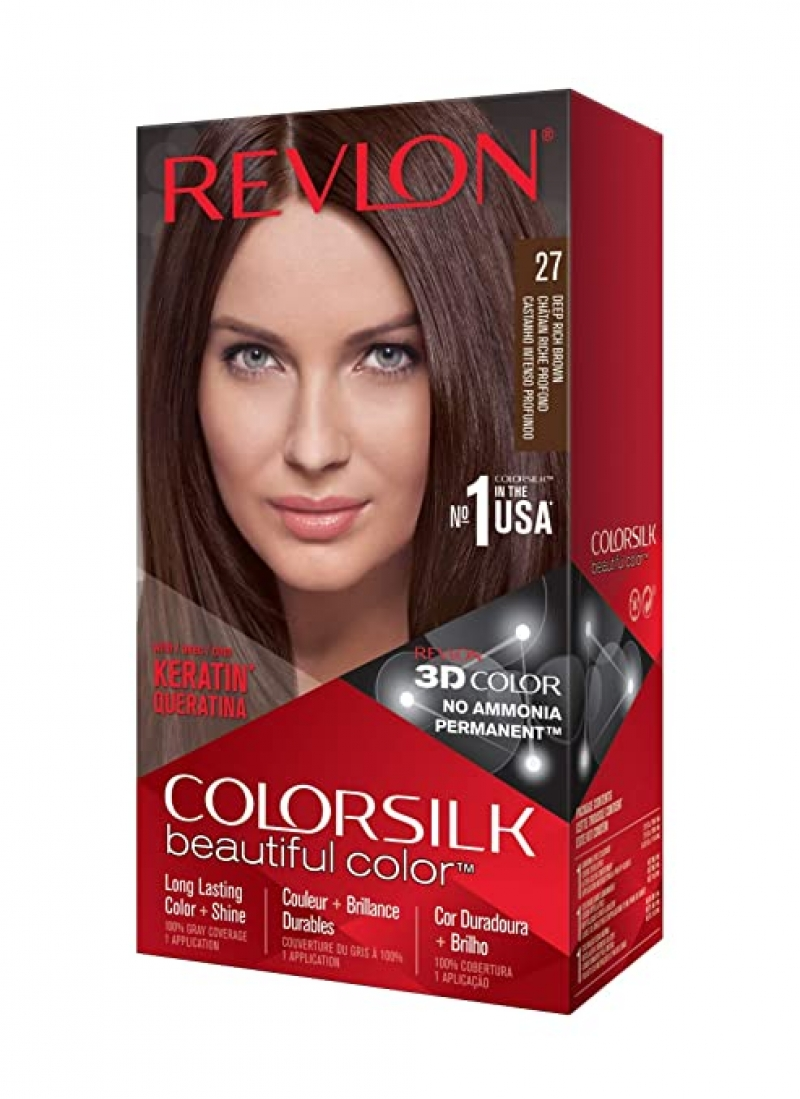 ihocon: Revlon Colorsilk Beautiful Color Permanent Hair Color with 3D Gel Technology & Keratin露華濃染髮劑