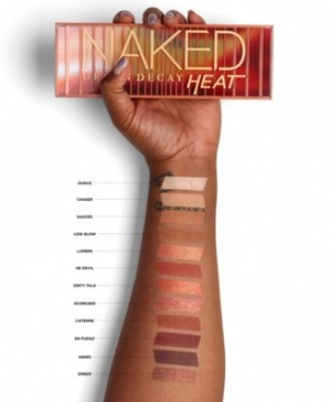 ihocon: Urban Decay Naked Heat Palette 眼影盤