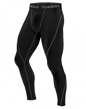 ihocon: Roadbox Men's Compression Pants Base Layer Cool Dry Tights Leggings 男士壓縮褲