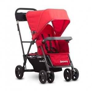 ihocon: Joovy Caboose Ultralight Graphite Stroller, Red  超輕嬰兒車