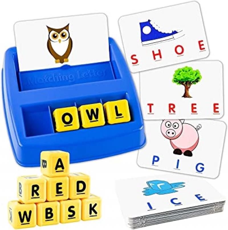 ihocon: Little Treasures Matching Letter Game 拼字練習