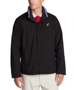 ihocon: Nautica Men's Waterproof Packable Hooded Jacket 男士防水連帽外套