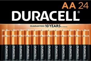 ihocon: Duracell - CopperTop AA Alkaline Batteries, 24 Count 電池