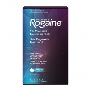 ihocon: Women's Rogaine 5% Minoxidil Foam, 4-Month Supply 女士泡沫生髮劑