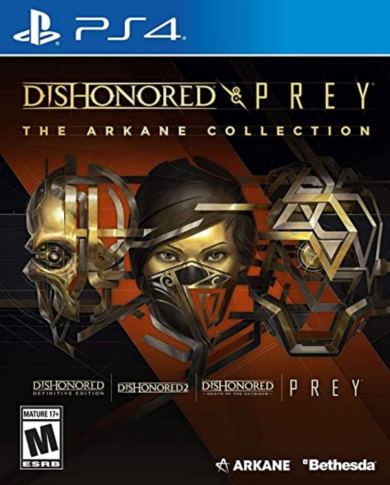 ihocon: PlayStation 4 遊戲 - Dishonored and Prey: The Arkane Collection