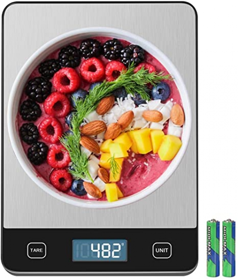 ihocon: Amiloe 33lb Kitchen Scale with 6 Units廚用電子秤