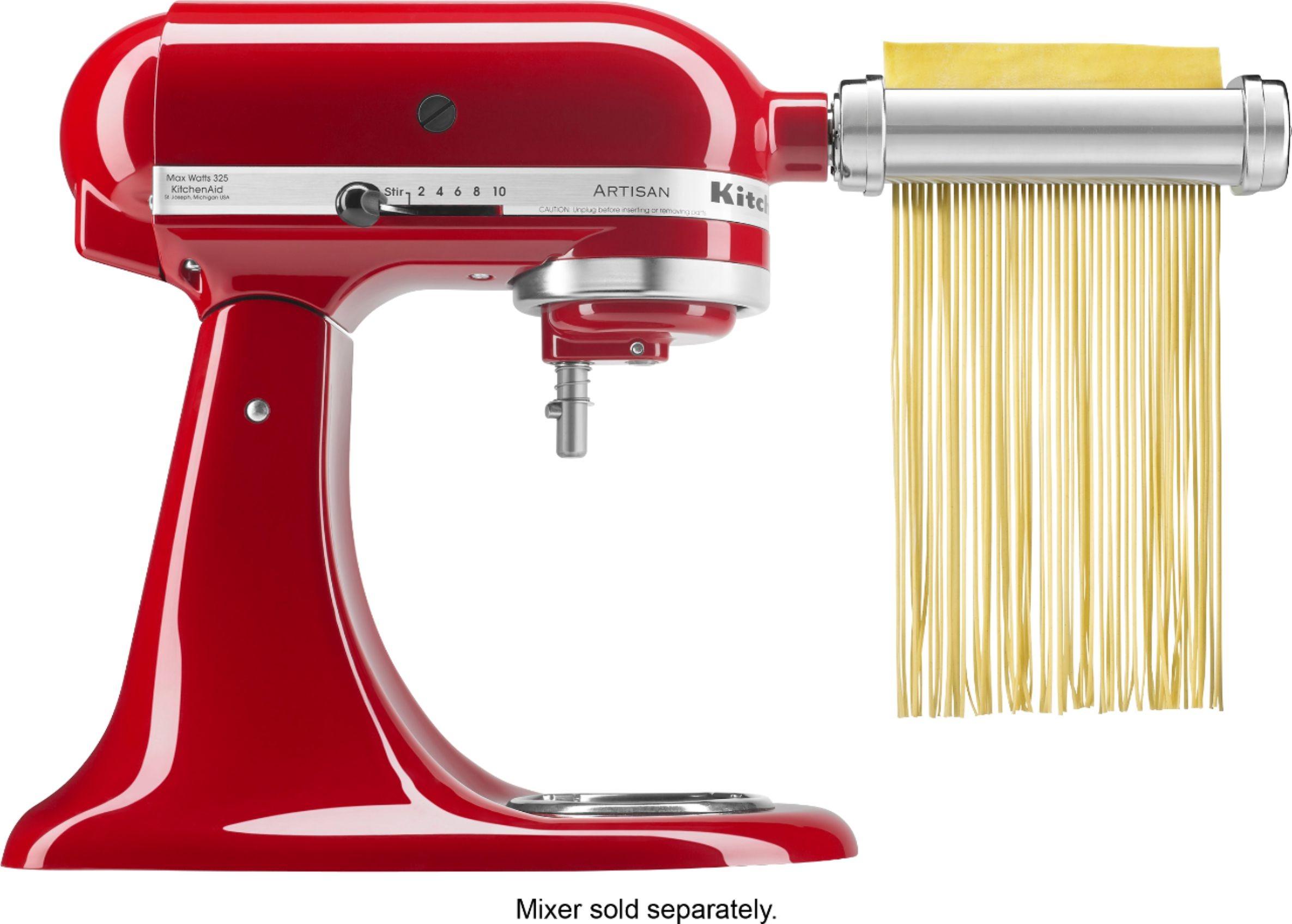 ihocon: KitchenAid Pasta Cutter and Fresh Prep Attachment Bundle 壓面器配件