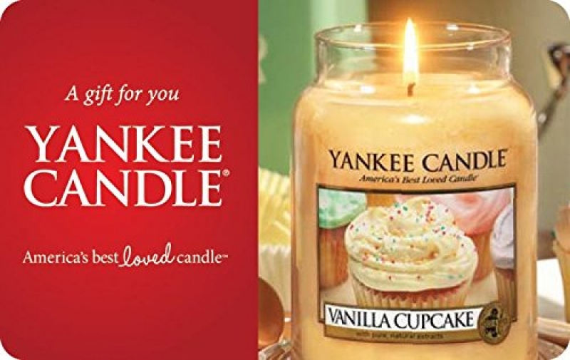 ihocon: $50 Yankee Candle Gift Cards - E-mail Delivery