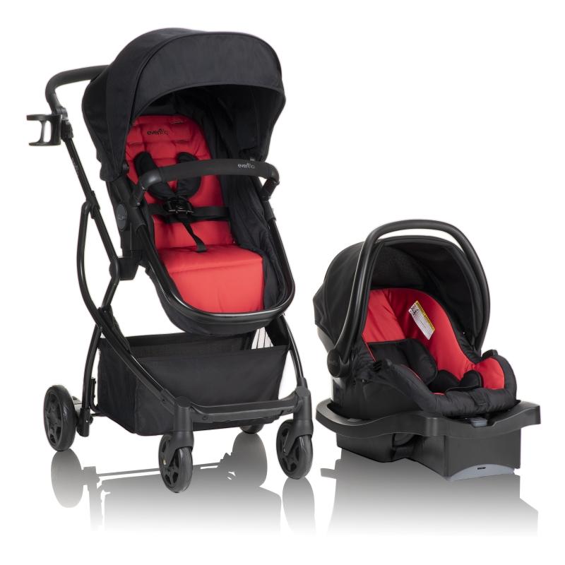 ihocon: Evenflo Evenflo Urbini Omni Plus Travel System with LiteMax Infant Car Seat 嬰兒推車及汽車安全座椅
