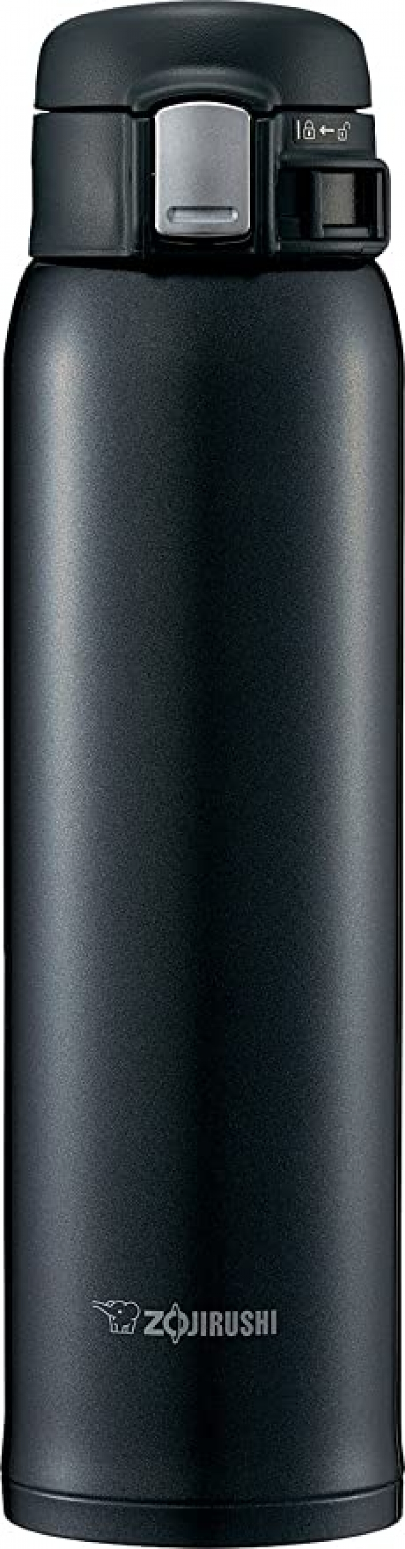 ihocon: Zojirushi SM-SD48BC Stainless Steel Vacuum Insulated Mug, 16-Ounce, Silky Black 不銹鋼保溫杯