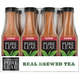 ihocon: Pure Leaf Real Brewed 18.5-oz. Iced Tea in Raspberry (Pack of 12)