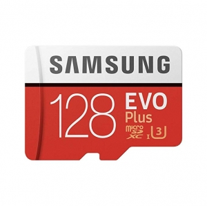 ihocon: Samsung 128GB EVO Plus Class 10 Micro SDXC with Adapter (MB-MC128GA)