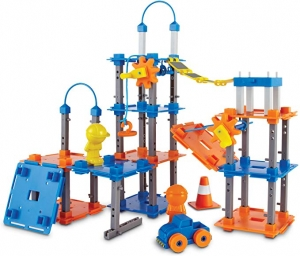 ihocon: Learning Resources City Engineering and Design Building Set, Engineer STEM Toy, 100 Pieces組合玩具