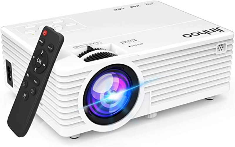 ihocon: Jinhoo M20 720p 5500 LUX Mini Portable Projector 迷你投影機