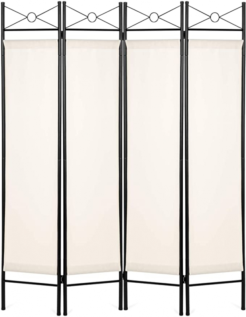ihocon: Best Choice Products 6ft 4-Panel Folding Privacy Screen Room Divider 屏風