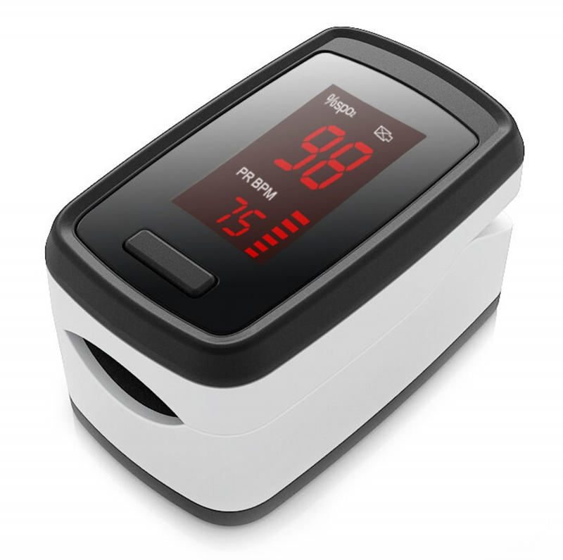 ihocon: Portable Fingertip Blood Oxygen Pulse Rate Monitor 血氧測量儀