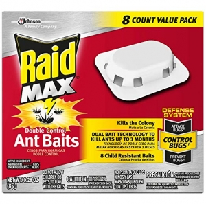 ihocon: Raid Max Double Control Ant Baits, 0.28 oz, 8 ct  螞蟻誘餌
