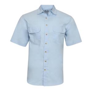 ihocon: Realtree Men's Woven Fishing Shirt 男士短袖襯衫