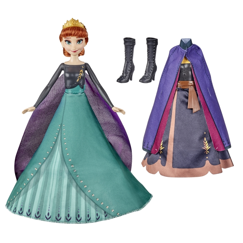 ihocon: DIsney's Frozen 2 Anna's Queen Transformation, Includes 2 Different Outfits 迪士尼《冰雪奇緣》