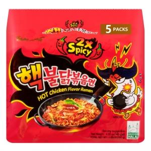 ihocon: 韓國SAMYANG 2倍加辣雞肉味拌麵 5包入