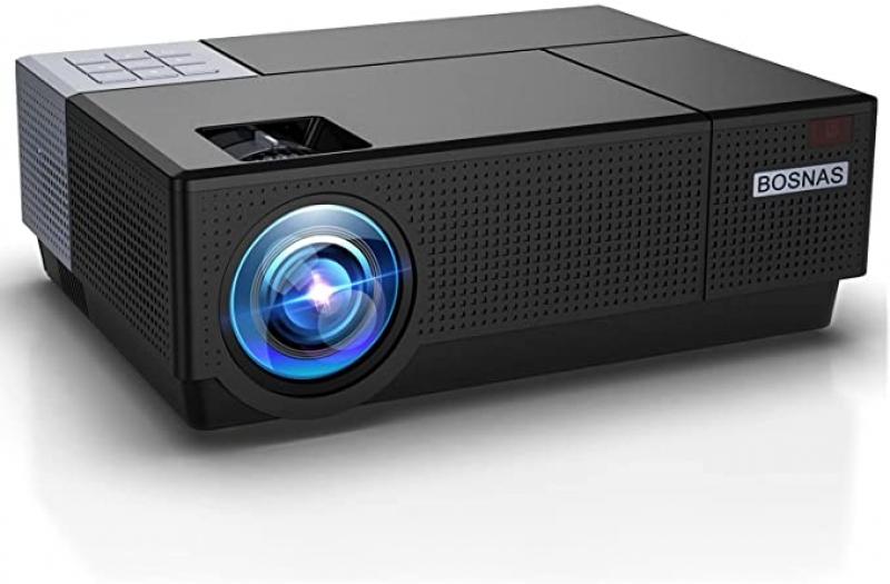ihocon: BOSNAS 8000 Lux Home Video Projectors, 1920×1080P 家庭劇院投影機