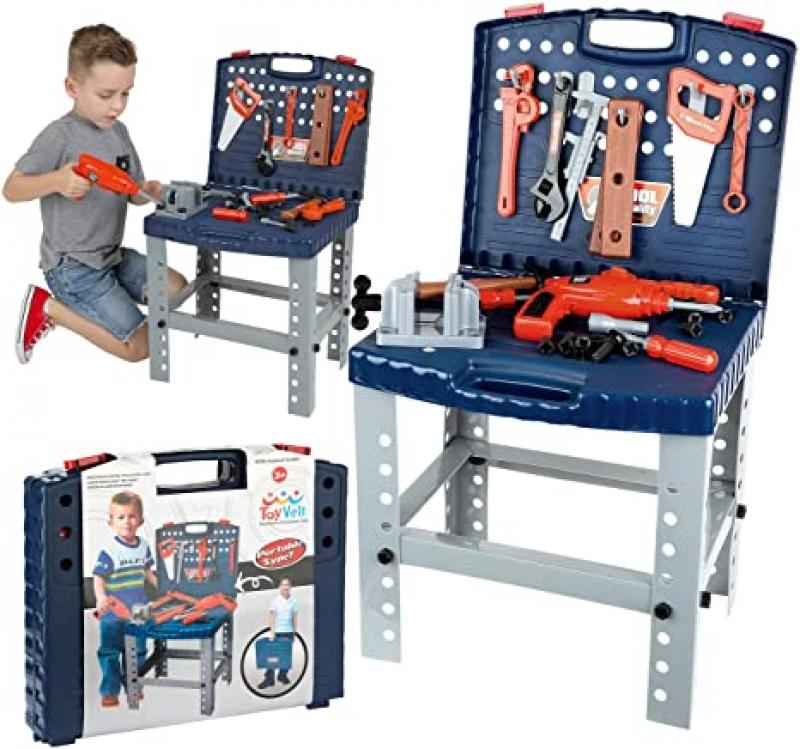 ToyVelt 68-Piece 兒童玩具工具 $22.07(原價$25.97)