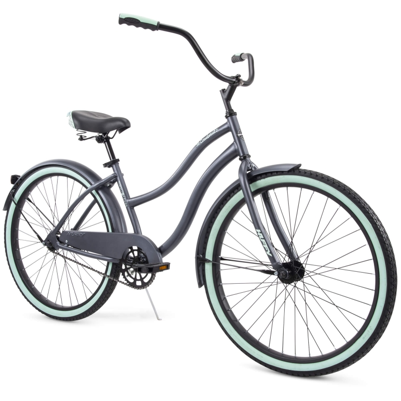 ihocon: Huffy 26 Cranbrook Women's Comfort Cruiser Bike, Gray 女士自行車