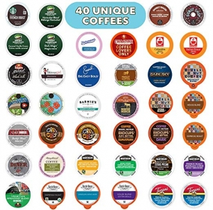 ihocon: Coffee Variety Pack  Sampler - Coffee Pods for Keurig K Cup Machine, 40 Count咖啡膠囊