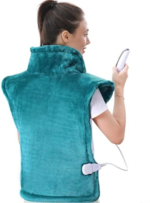 ihocon: MaxKare Large Heating Pad for Back and Shoulder Pain, 24x33  肩頸背部大型加熱墊